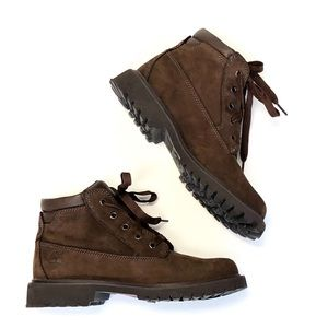 TIMBERLAND   New Brown Suede Hiking Boots 8 Womens